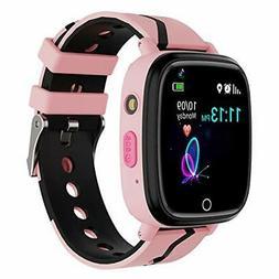 Kids Smart Watch GPS Tracker - Waterproof GPS Tracker Watch