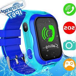 Kids Smart Watch Phone for Girls Boys with GPS Locator Pedom