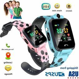 Kids Smart Watch Phone LBS/GPS Locator Touchscreen SOS for C