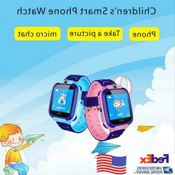 Kids Smart Watch Wrist Fashion New GPS Tracker For Boys Girl
