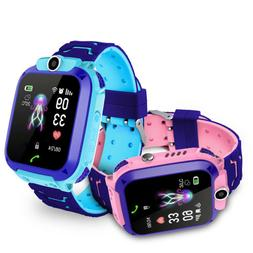 Kids Smartwatch Children Waterproof Phone Watch Locator Trac
