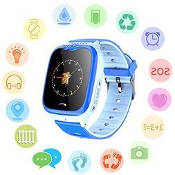 kids waterproof smart watch
