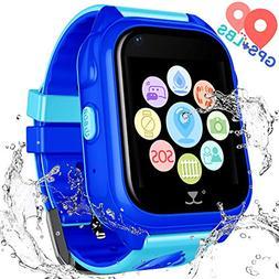 Kids Waterproof Smart Watch Phone - Children Water Resistant