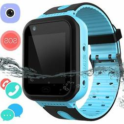 Kids Waterproof Smartwatch GPS Tracker-Boys & Girls IP67 Wat