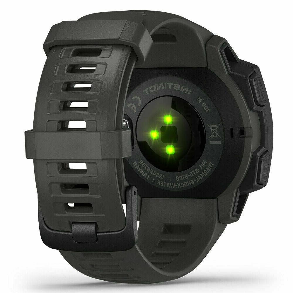 2019 Garmin Instinct Outdoor Watch ASST. Colors Thermal, COLOR