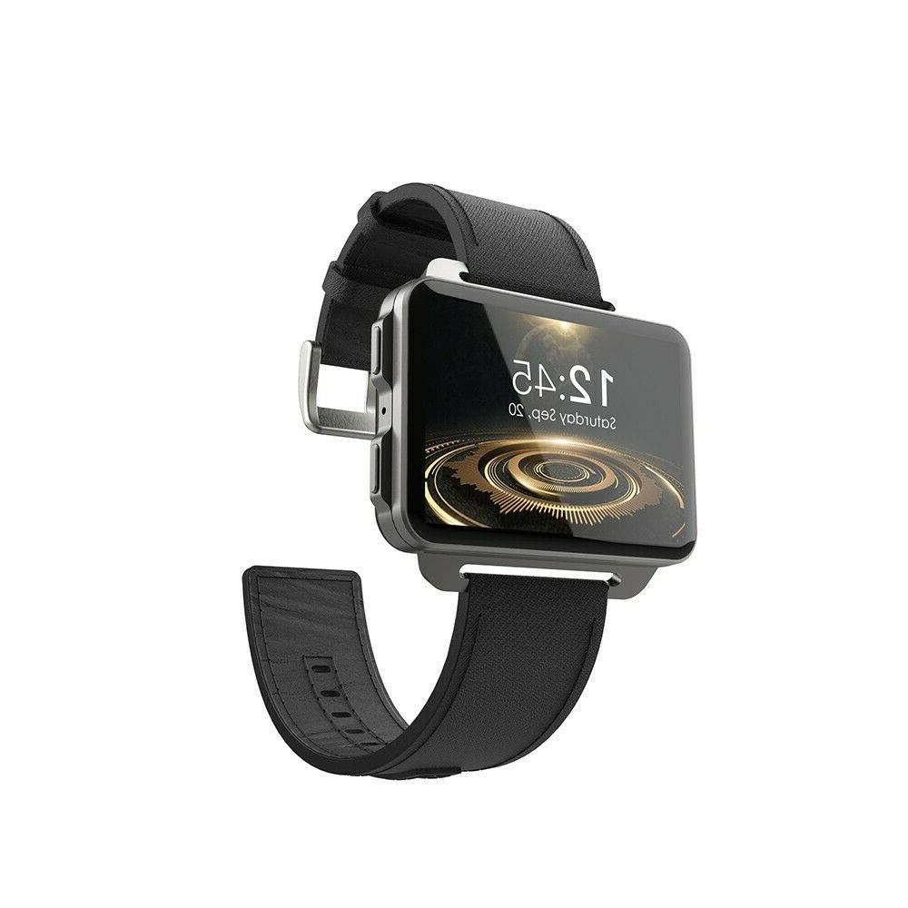2019 Lemfo LEM4 Man Smart Watch Big Screen Camera