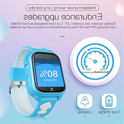 2019 Smart Phone Tracker Watch for SOS Camera Cell Fitness Outdoor Birthday