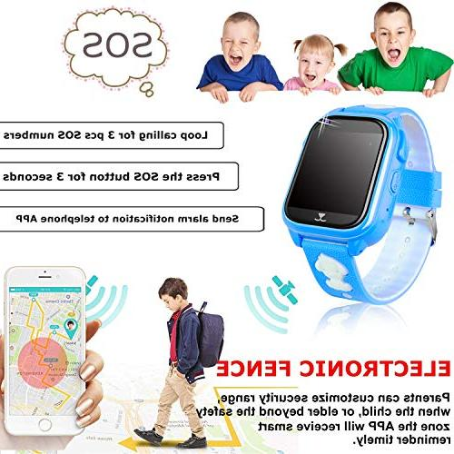 2019 UPGRADES Smart Watch Phone Tracker Boys Girls Game Watch with Screen SOS Camera Phone Fitness Smartwatch Birthday Gifts