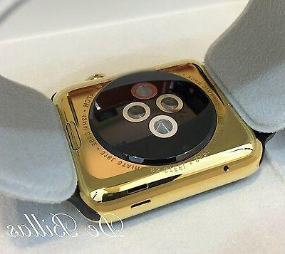 24K Plated Apple Watch SERIES 3 with Sport GPS+Cellular