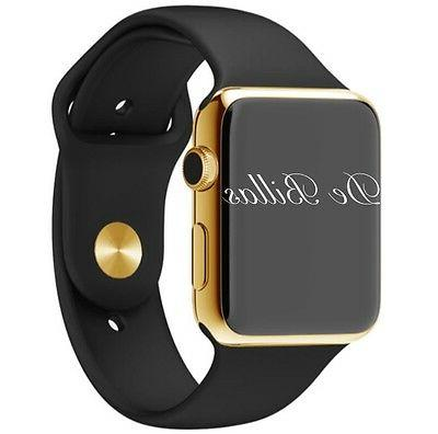 24k gold plated 42mm watch series 3