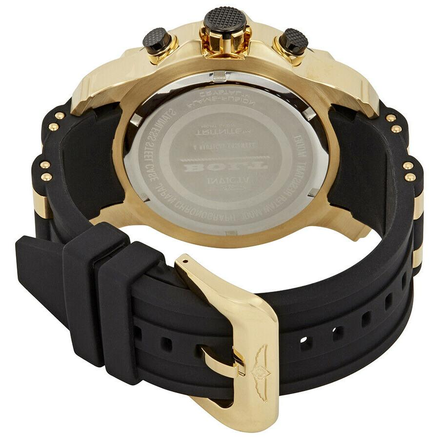 Invicta Chronograph Gold-Tone Ion-Plated Men's Watch