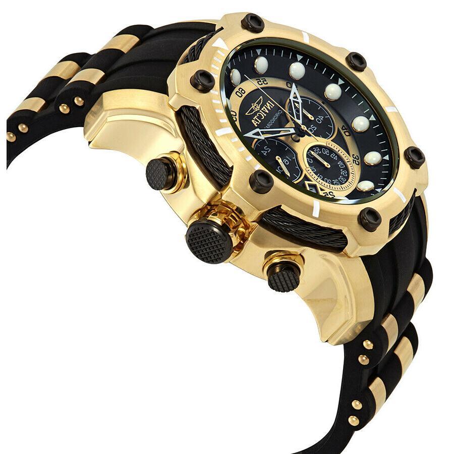 Invicta Bolt Chronograph Gold-Tone Men's