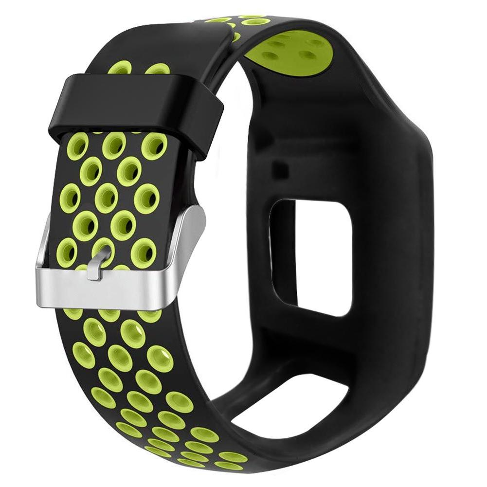 28mm Wrist Silicone Replacement Watchband Wrist Band Strap For <font><b>1</b></font> <font><b>1</b></font> <font><b>GPS</b></font>