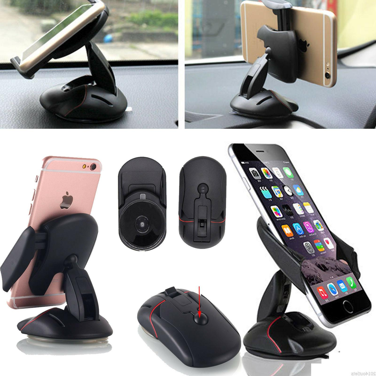 360° In Car Dashboard Cell GPS Cradle