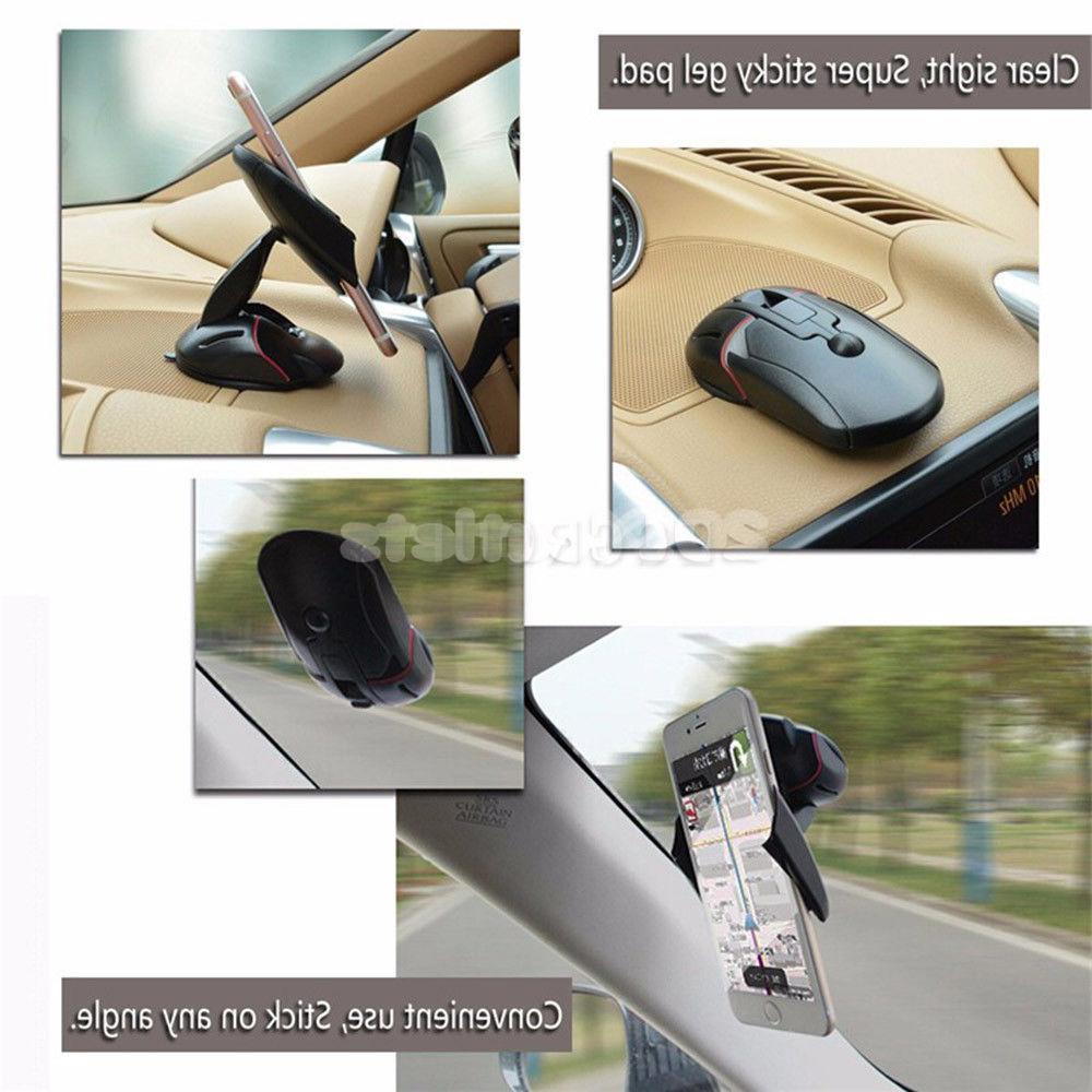 360° Universal Dashboard Mobile GPS Holder Cradle