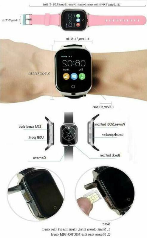 3G Phone For Kids Elderly, Kkbear Tracking,