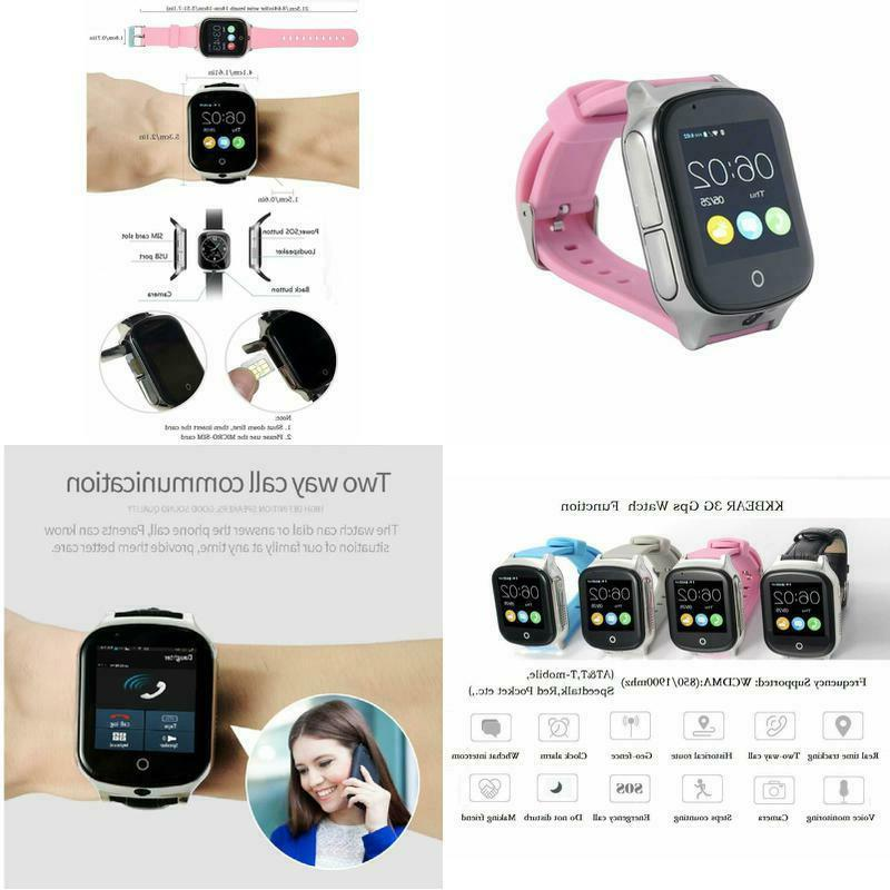 3g gps smart watch phone for kids