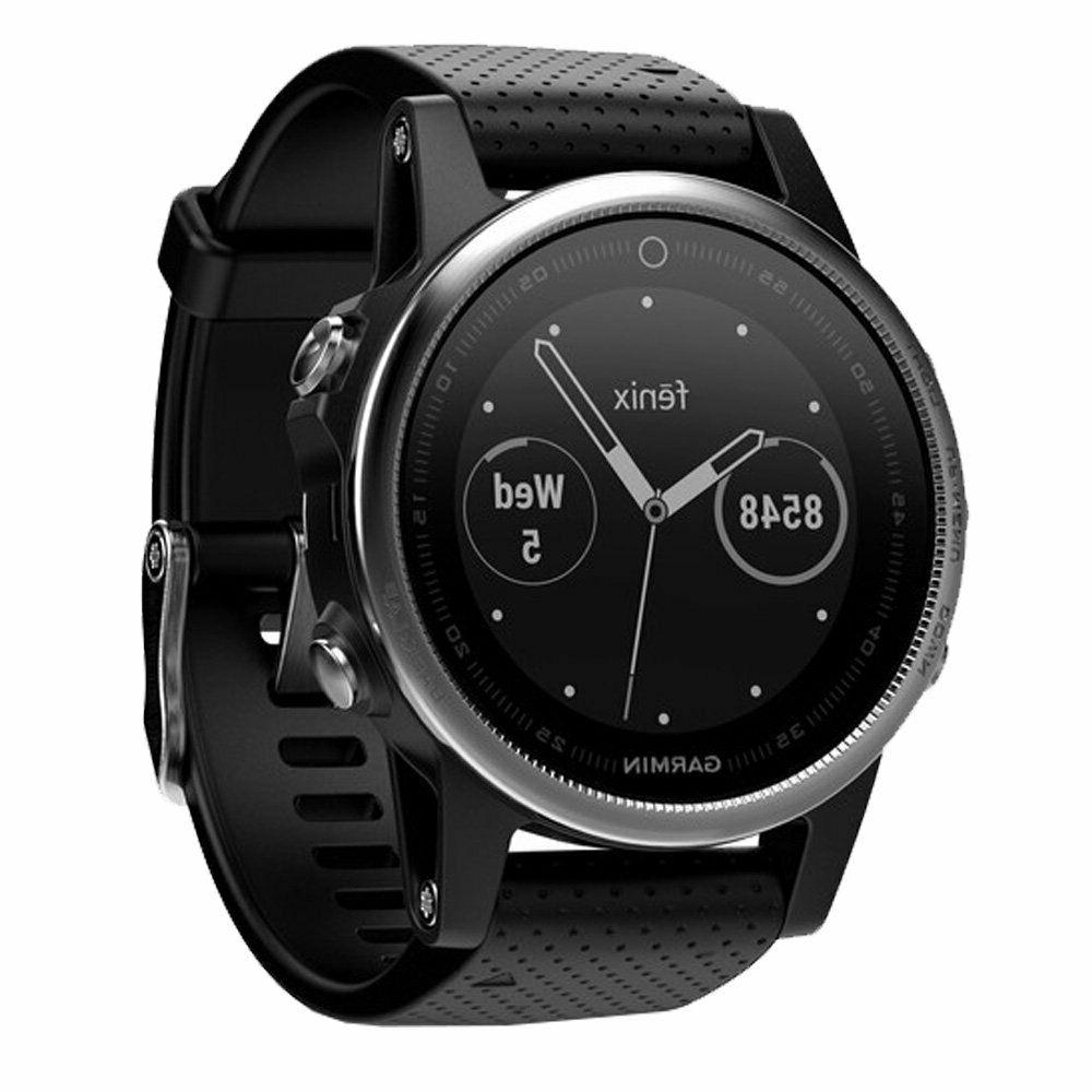 Garmin Silver Black Band