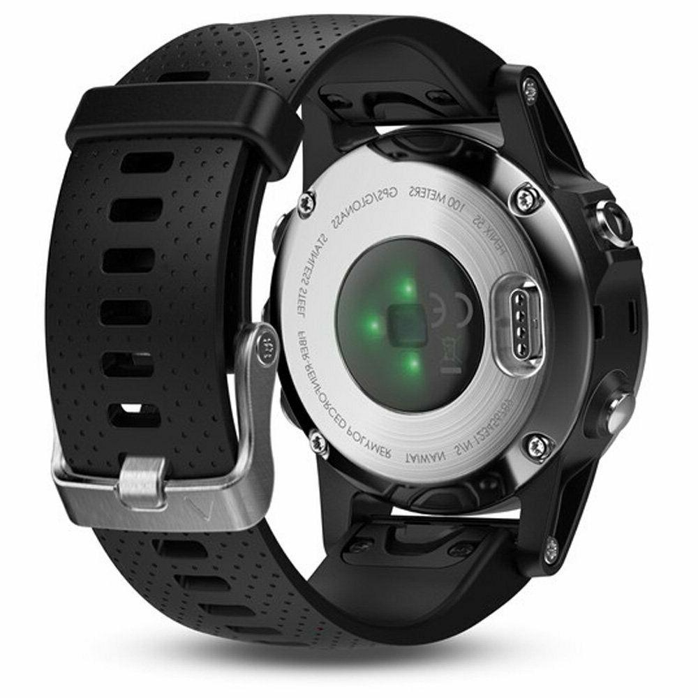 Garmin 42mm Silver And Black GPS