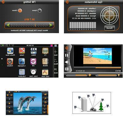 7'' Navigation Auto Navigator 4GB 128MB RAM Free M4I6