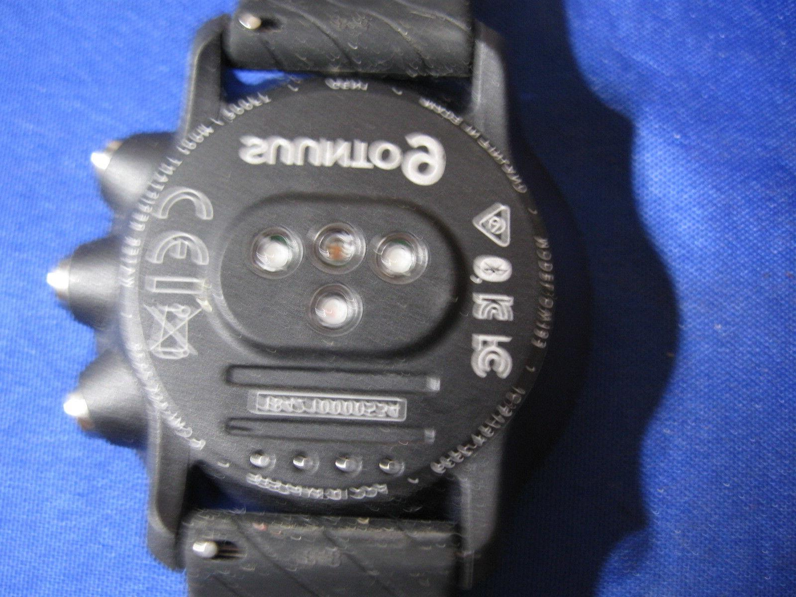 SUUNTO BLACK WRIST SPORT GPS WATCH
