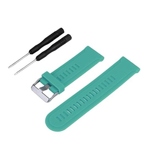 Alonea Replacement Silicagel Soft Band Strap For Garmin Feni