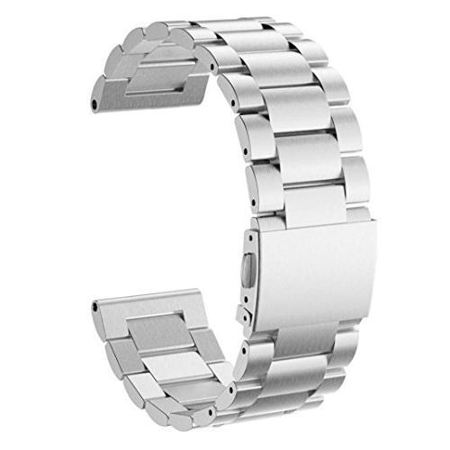 Alonea Stailess Steel Bracelet Strap Watch Band For Garmin F