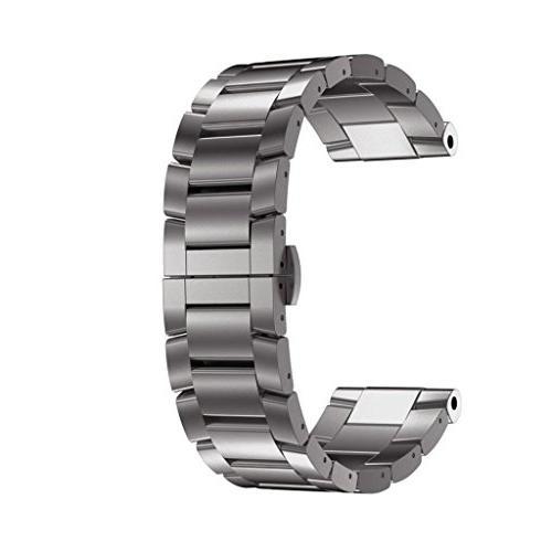 Alonea Titanium Steel Bracelet Wrist Strap Smart Watch Band