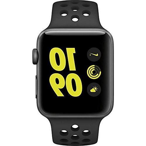 Apple Watch Series 2 Nike+, 38MM, Space Gray Aluminum Case A