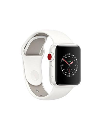 Apple Watch Series 3 Edition - GPS+Cellular - White Ceramic