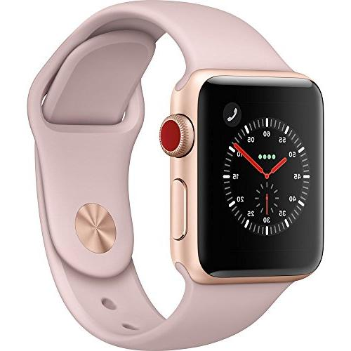 new style 42e14 d12f0 Apple Watch Series 3 - GPS+Cellular - Gold
