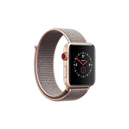 Apple Watch Series 3  - Gold Aluminum Case / Pink Sand Loop