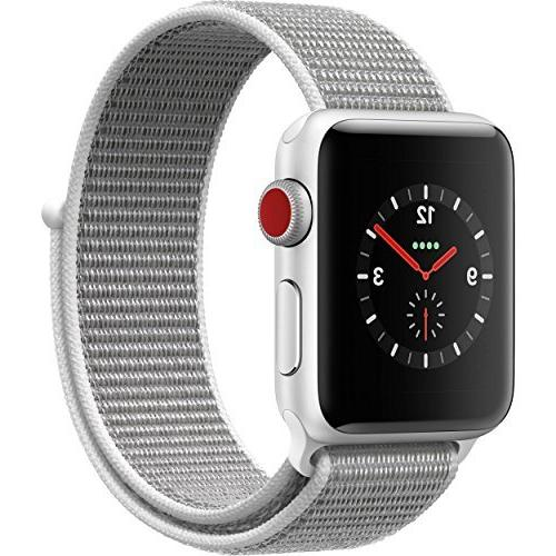Apple Watch Series 3 - GPS+Cellular - Silver Aluminum Case w