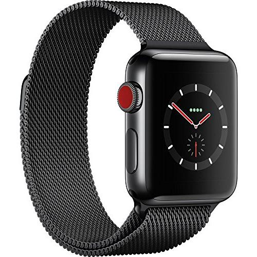 Apple Watch Series 3 - GPS+Cellular - Space Black Stainless