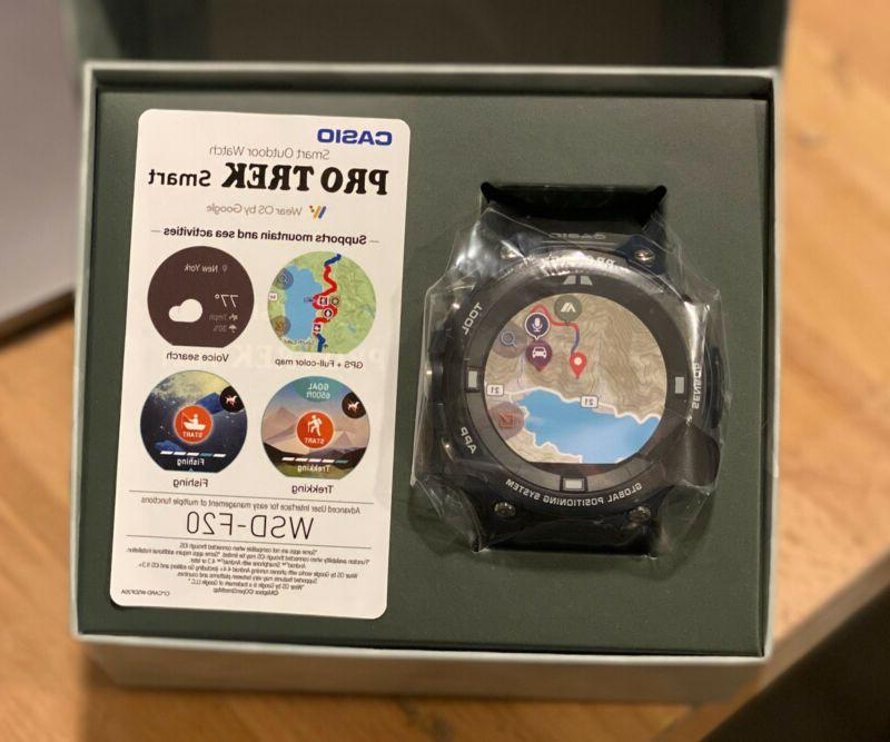 """Casio Men's """"Pro Trek"""" Outdoor GPS Resin Sports Watch, Color"""