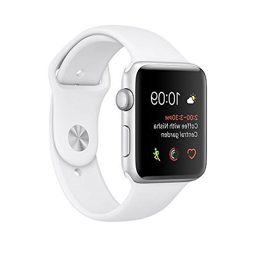 Certified Refurbished Apple Watch Series 2, 42mm Silver Alum