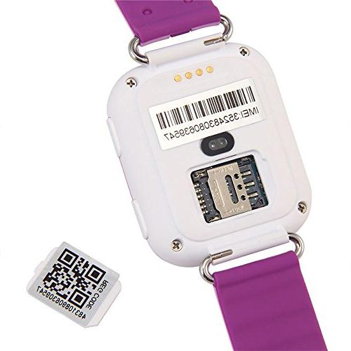 Cewaal Q100 GPS Tracker with IPS Children