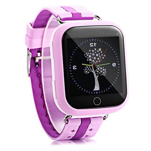 Cewaal Kids Smart Watch Q100 Kids SIM Wristband GPS Tracker