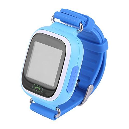 Children Watch, WIFI Touch Screen Watches Positioning Remote Monitor with Chatting / / Pedometer Kids Safty Christmas Gift
