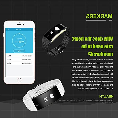 EFOSHM Tracker Rate, Activiy Bracelet with Counter,Sleep Smart for