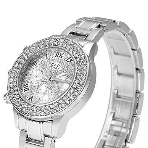 ELEOPTION Bracelet Quartz Watch Stainless Band women's Watch