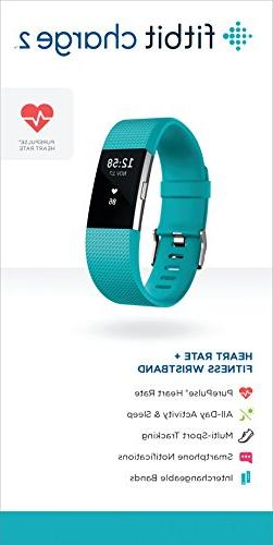 Fitbit 2 Rate + Fitness Wristband, Teal,