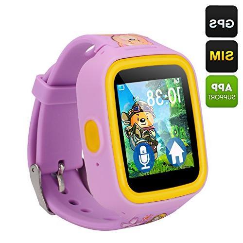 Fly Bird GPS Tracker Kids Watch Phone -
