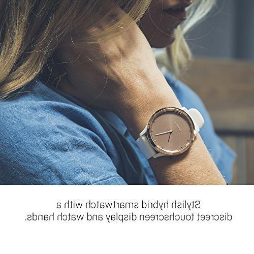 Garmin vívomove HR, Hybrid Smartwatch Men and Gold White