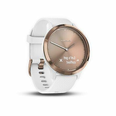 Garmin 010-01850-12 vívomove HR, Hybrid Smartwatch for Men