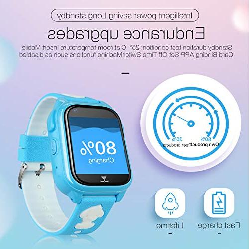 IP68 Waterproof Watch Boys Holiday Birthday Gift Game SOS Camera Live App IOS/Android