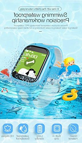 IP68 Watch Smartwatch Boys Holiday Birthday Gift Game Watch Camera App IOS/Android