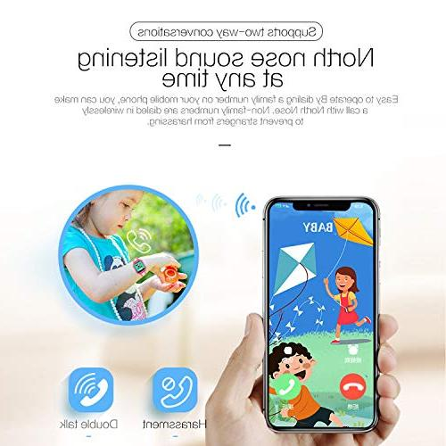 IP68 Waterproof Kid Smart Watch Phone GPS Tracker