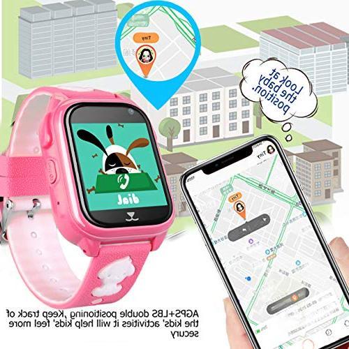 IP68 Waterproof Watch Smartwatch 3-12 Boys Holiday Birthday Gift Watch App