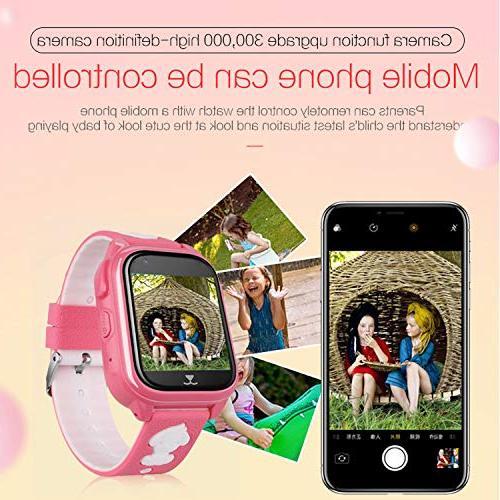 IP68 Waterproof Kid Smart Watch Phone GPS Smartwatch Year Boys Gift Watch Camera Anti-lost App for